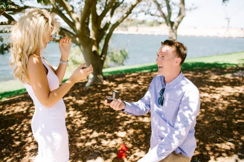 What a beautiful engagement!