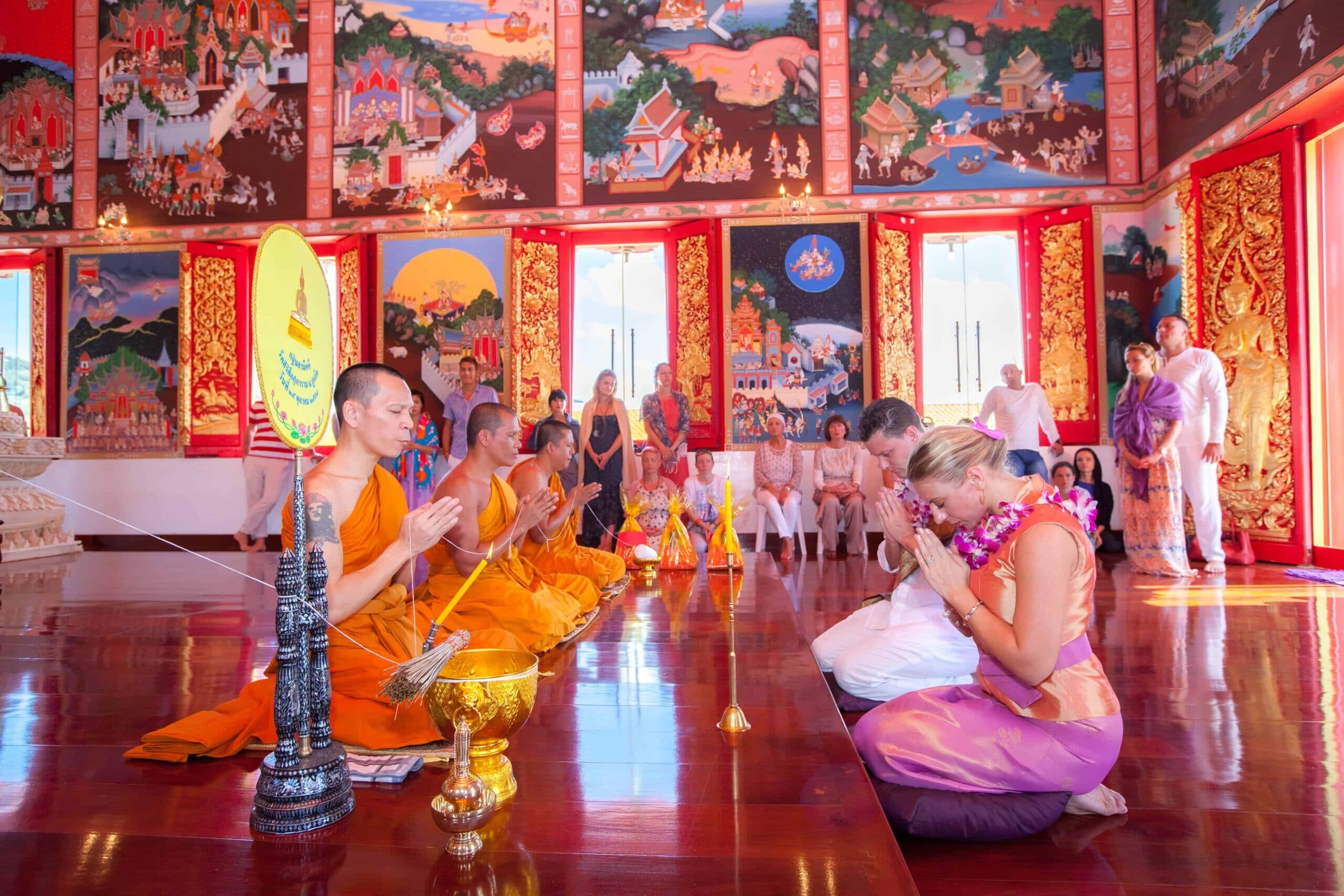 Thai Buddhist Wedding Ceremony in Phuket