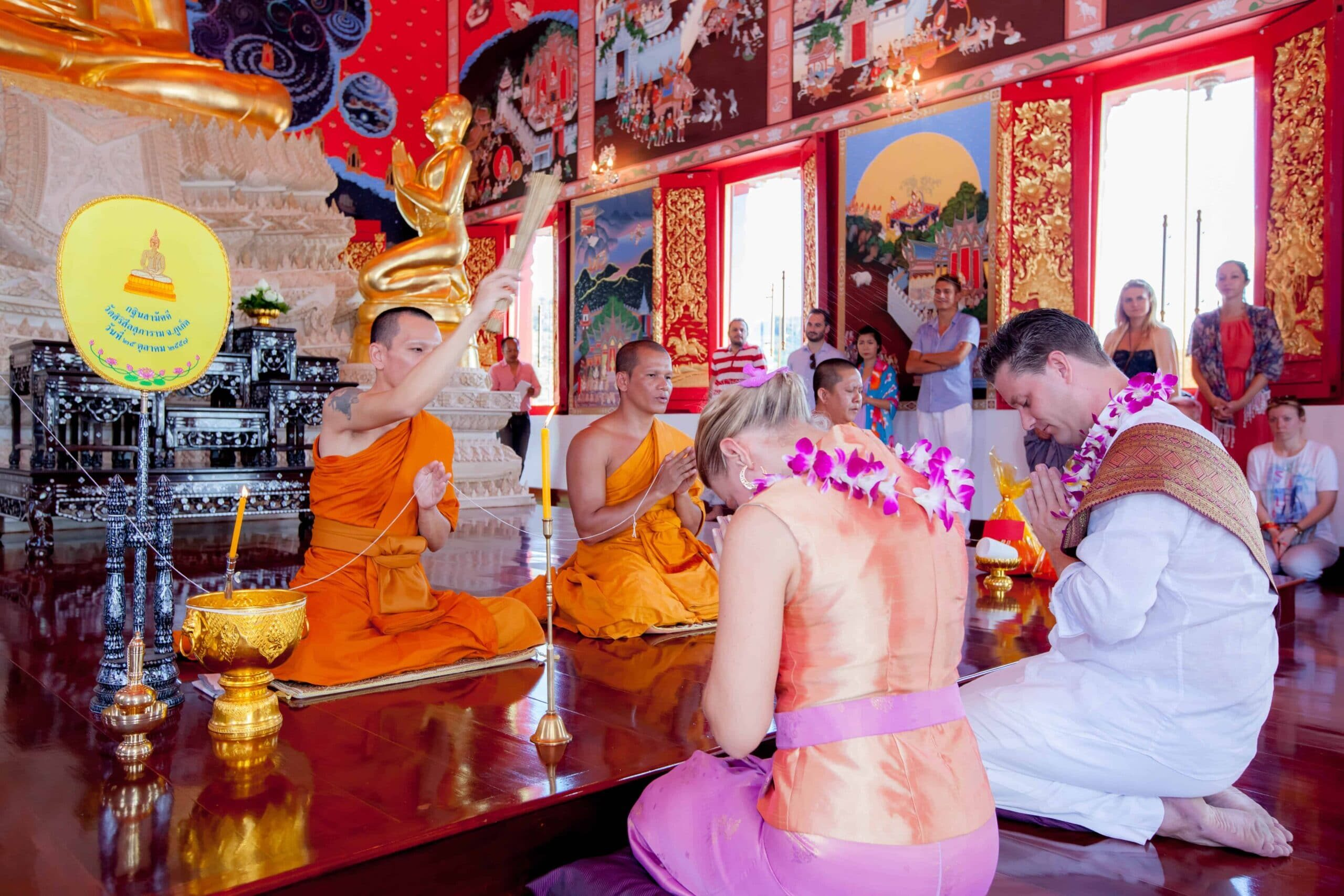 Thai Buddhist Ceremony in Phuket