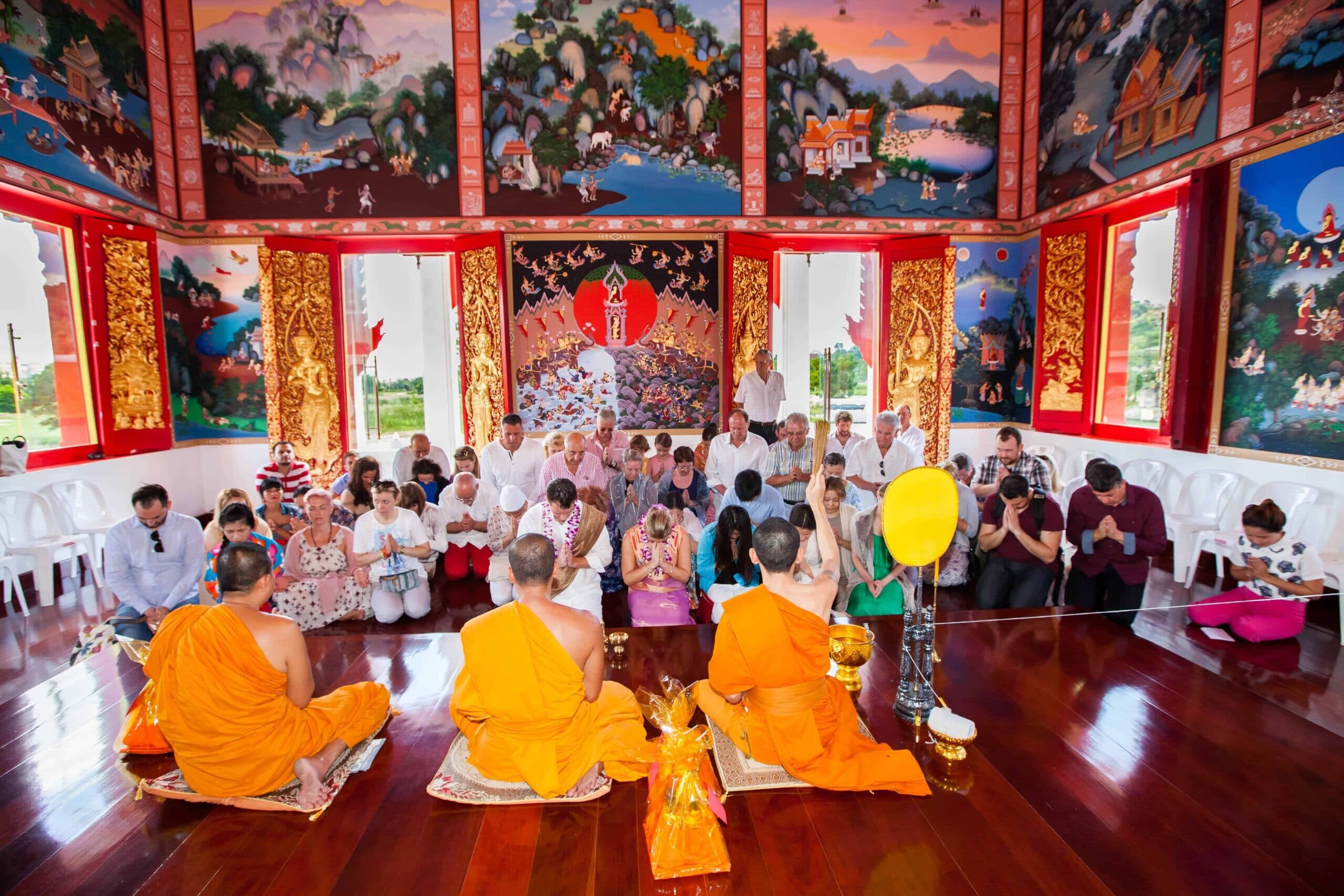 Thai Buddhist Wedding Ceremony