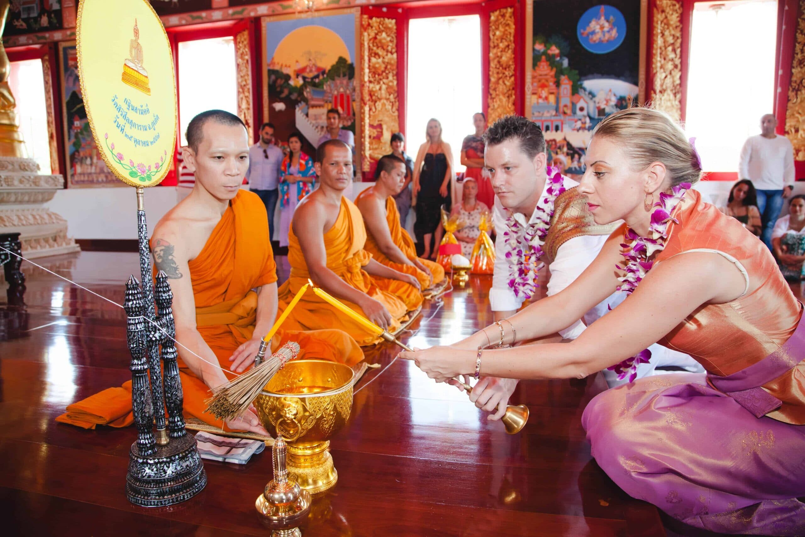 Thai Blessing in Phuket Bespoke Experiences