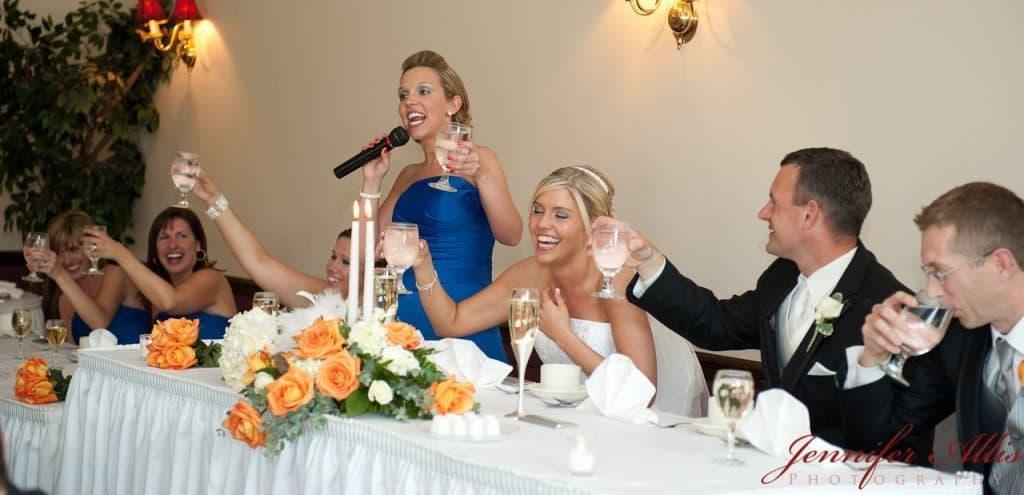 Great wedding speeches